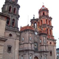 CATEDRAL, SAN LUIS POTOSÍ, S.L.P., Сбюдад-де-Валлес