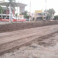 Calle Pesqueira en reconstrucción, Навохоа