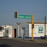 Corner of Blvd Dr Norman E Borlaugh and Blvd Ignacio Ramirez, Сьюдад-Обрегон