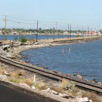 Ferrocarril sobre Estero en Guaymas-Empalme, Хероика-Ногалес