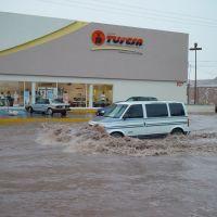 Lluvia en la Calzada, Хероика-Ногалес