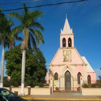 Iglesia en el zócalo de Cocorit, Son, Хероика-Ногалес