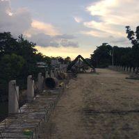 Construyendo el nuevo puente Puxcatan II, Макуспана