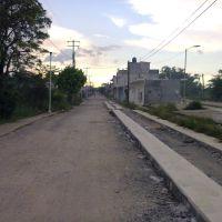 Calle Prol Agustin Diaz del Castillo x la Col Los Gatos, Макуспана