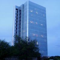 Vista atardecer Torre de Cristal, Валле-Хермосо