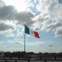 Macro bandera Nuevo Laredo[Untitled], Нуэво-Ларедо