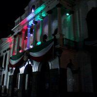 Fachada Presidencia Municipal y comandancia, Амека