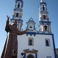 Santuario de Nuestra Señora de Guadalupe y monumento a Juan Pablo II, Амека