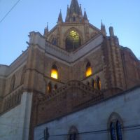 Catedral de Arandas vista lateral, Арандас