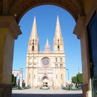 Arco sobre Parroquia de San Jose Obrero, Арандас