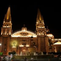 Catedral de Guadalajara Jal. - Guadalajara Jal. Cathedral, Гвадалахара