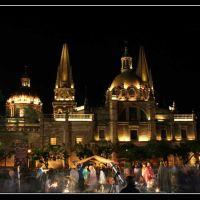 Catedral y Plaza de la Liberación en Guadalajara, Jal. - Cathedral and Plaza de la Liberacion, Гвадалахара