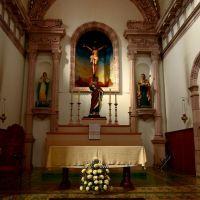 San Pedro Apóstol: altar, Ла-Барка