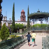 Quiosco plaza principal de la Barca Jalisco, Ла-Барка