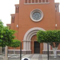 Puerta Principal, Templo de Briseñas de Matamoros, Mich., Ла-Барка