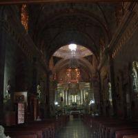 interior de la parroquia de Santa Mónica de La Barca, Ла-Барка