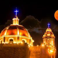 Parroquia Santa Mónica, La Barca, Jalisco, México, Ла-Барка