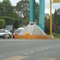 Piramide Chichen Itza Yucatan,Boulevard ,Comitan Chiapas, Комитан (де Домингес)