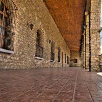 Corredor externo Centro Cultural Rosario Castellanos HDR, Комитан (де Домингес)