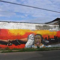 Mural del día Internacional del Refugiado, Tapachula, Chis, Тапачула