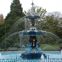 Restored Peacock Fountain Apl 07, Крайстчерч