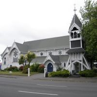 St Michaels & All Angels Anglican Church, Christchurch, NZ, Крайстчерч