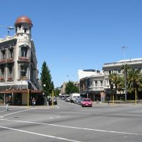 Christchurch, NZ, from Lichfield & Manchester Sts, Крайстчерч