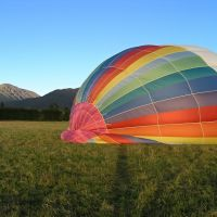 Methven hot air ballooning, Ашбуртон