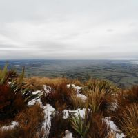 Canterbury Plains from Mt Hutt, New Zealand, Ашбуртон