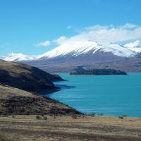 New Zealand - Lake Tepako - Peninsula Walk, Гор
