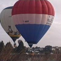 Hot air balloon Hamilton lake, Гамильтон