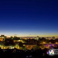 Hamilton City at Night, Гамильтон