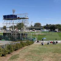 A beaut day @ Seddon Park for the Test, Гамильтон
