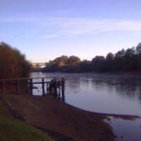 Claudelands Bridge riverside walk, Гамильтон