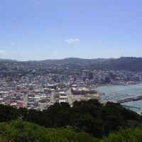 New Zealand - View on Wellington, Ловер-Хатт