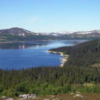 Övre Oldsjön from Storrun, Боде