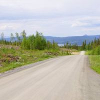 The road between Huså and Åre., Боде