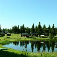 Campingplass langs Fiskeveien i veikryss RV.340 og RV.344, Боде