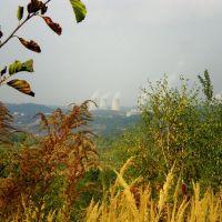 Widok na Elektrownię Turów, Богатыня