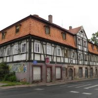 łużycki dom przysłupowy / Lusatian house, Богатыня