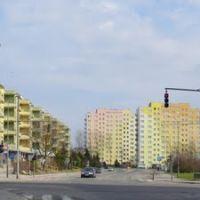 Bolesławiec, ul. Asnyka, budowa basenu miejskiego, Болеславец
