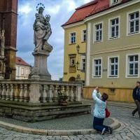Modlitwa o dobre zdjęcie.     Prayer for a good photo., Вроцлав