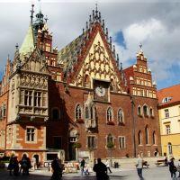 Wrocław - city hall., Вроцлав