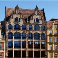 Wroclaw tenements., Вроцлав
