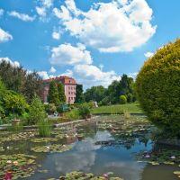 Wrocławski Ogród Botaniczny - lato 2013r., Вроцлав