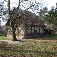 Ostatnii drewniany budynek w okolicy, Желеня-Гора