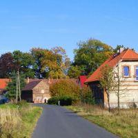 Jesień w Kościelnej Wsi, Згорзелец