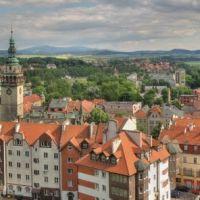 Blick vom Festungshügel, Клодзко