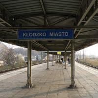 Train station Kłodzko-Miasto / Dworzec kolejowy Kłodzko-Miasto / Zastávka Kladsko-Město, Клодзко