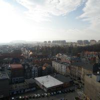 View of Kłodzko / Widok na Kłodzko / Pohled na Kladsko, Клодзко